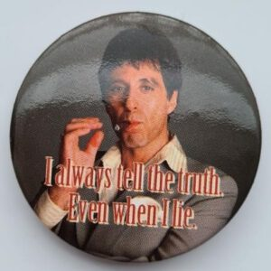 Button Scarface Truth