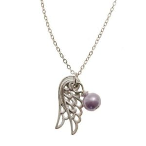 Ketting Angel Wings Lila