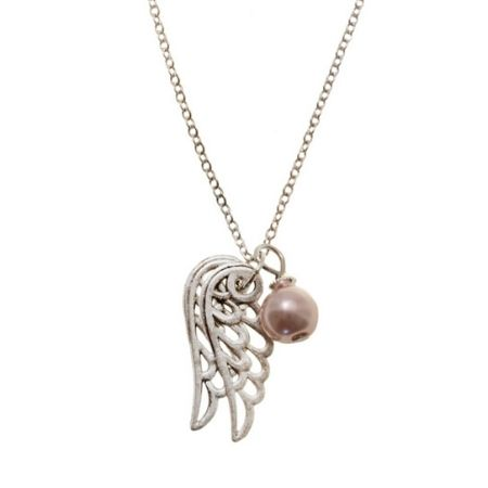 Ketting Angel Wings Rose