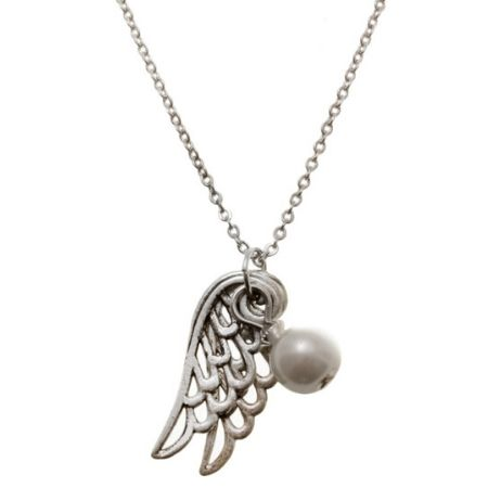 Ketting Angel Wings Wit