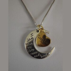 Ketting I Love You Moon Grandma