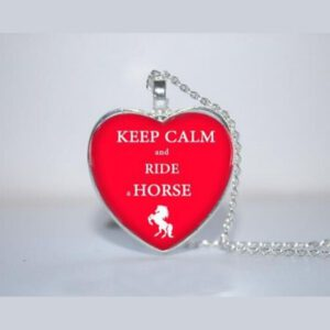 Ketting Keep Calm And Ride Horse