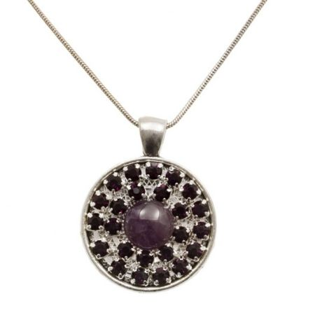 Ketting Sparkle Purple