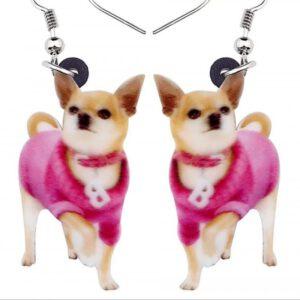 Oorbellen Chihuahua Diva
