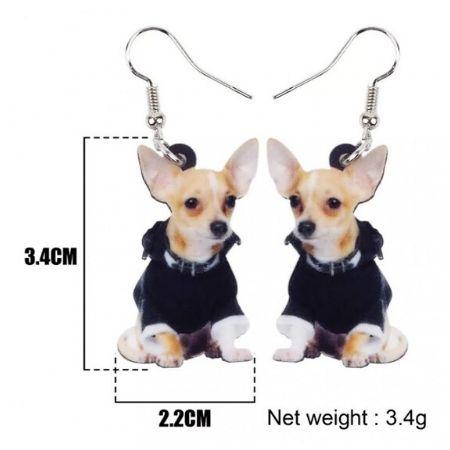 Oorbellen Chihuahua Stoer