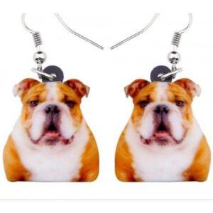 Oorbellen Engelse Bulldog