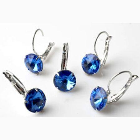 Oorbellen Sapphire Blue