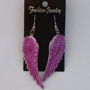 Oorbellen Wings Roze