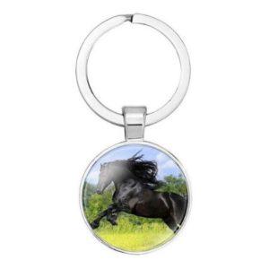 Sleutelhanger Zwart Paard