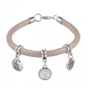armband love faith hope goudbruin